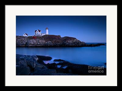 New England Framed Prints