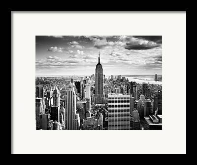 Bw Framed Prints