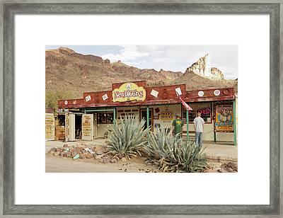 Oatman, Arizona, United States Framed Print