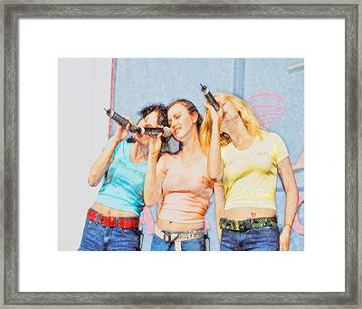 3 Of Hearts Framed Print by Brian Graybill