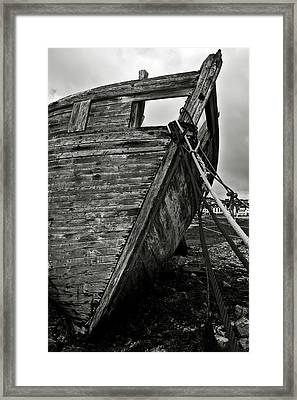 Old Abandoned Ship Framed Print by RicardMN Photography