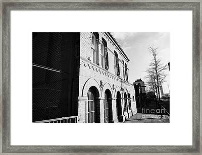 old friends meeting house frederick street Belfast Northern Ireland UK Framed Print by Joe Fox