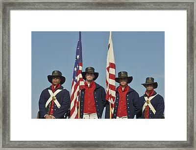 Honor Guard  Framed Print by Marianne Campolongo