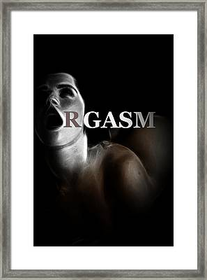 Orgasm Framed Print by Steve K
