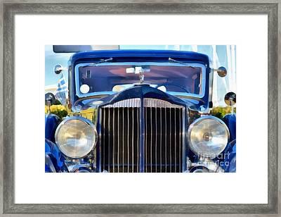 1933 Packard Super Eight Framed Print