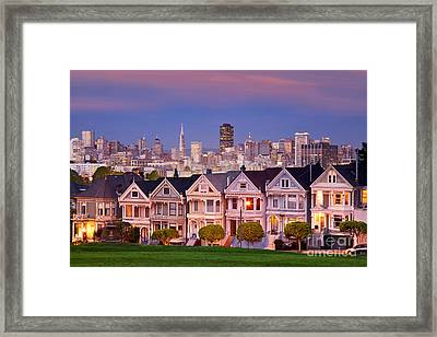Painted Ladies Framed Print by Brian Jannsen