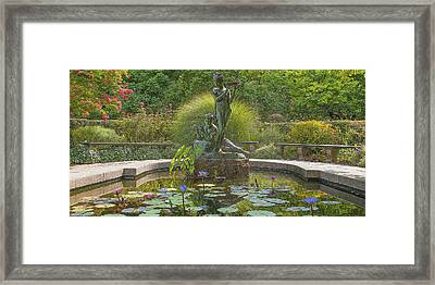 Framed Print featuring the photograph Park Beauty by Theodore Jones