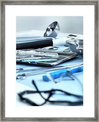 Pathology Framed Print