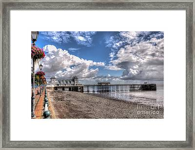 Penarth Pier 3 Framed Print