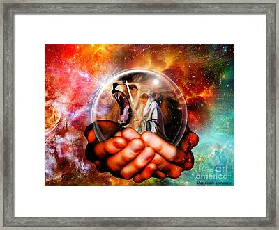 Perfect Protection Framed Print by Dolores Develde