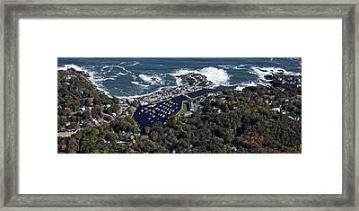 Perkins Cove, Ogunquit Beach, Ogunquit Framed Print