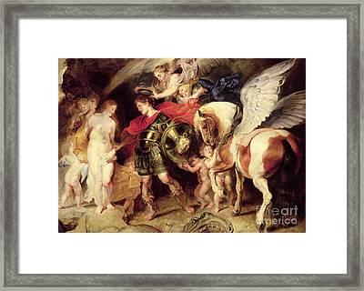 Perseus Liberating Andromeda Framed Print