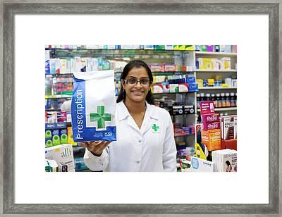 Pharmacist Framed Print