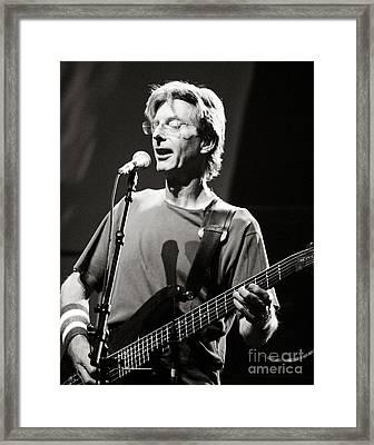 Phil Lesh Framed Print by Chuck Spang