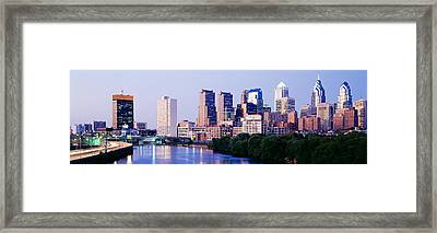 Philadelphia, Pennsylvania, Usa Framed Print