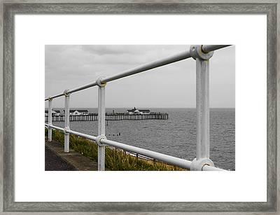 Pier Framed Print by Svetlana Sewell