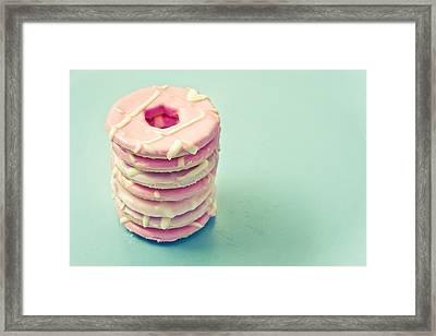 Pink Cookies Framed Print by Tom Gowanlock