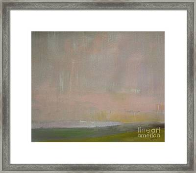 Pink Dusk Framed Print by Vesna Antic