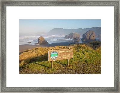 Pistol River State Park, Oregon Framed Print