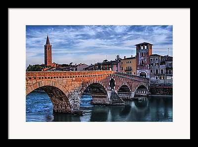 Northern Italy Framed Prints