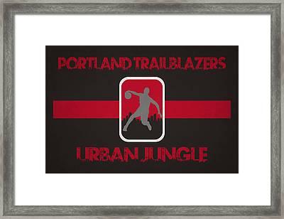Portland Trailblazers Framed Print