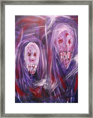 Portrait Of A Vampire Framed Print by Randall Ciotti