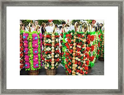 Portugal, Tomar, Preparing Framed Print by Terry Eggers