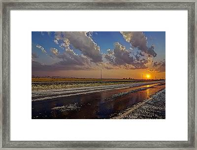 Post Hail Paradise Framed Print