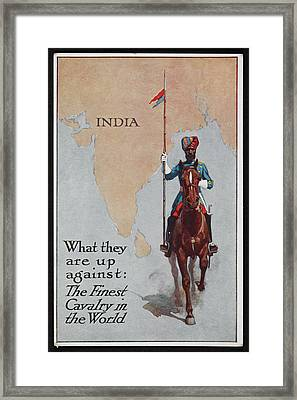 Postcard Circa 1905 - 1918 Framed Print by British Library