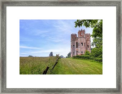 Powderham Castle Framed Print