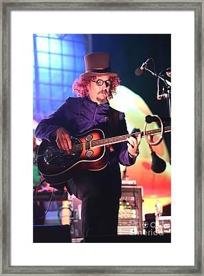 Primus Les Claypool  Framed Print