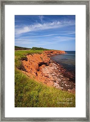Prince Edward Island Coastline Framed Print