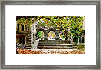 Princeton University Framed Print by Olga Breslav