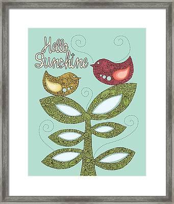 Print Framed Print by Valentina