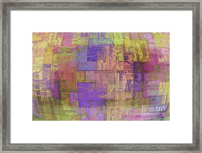 Printed Circuit Framed Print by Michal Boubin