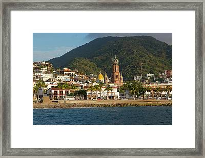Puerto Vallarta, Jalisco, Mexico Framed Print by Douglas Peebles