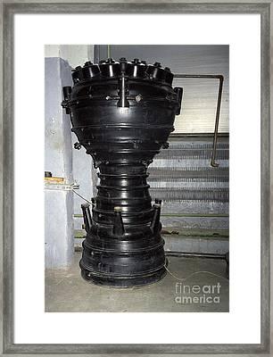 R-1 Soviet Rocket Engine Framed Print