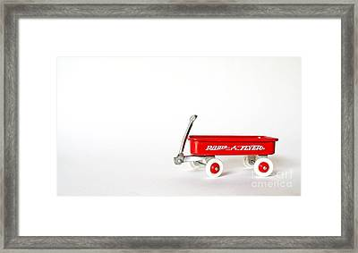 Radio Flyer Framed Print by Jack Paolini