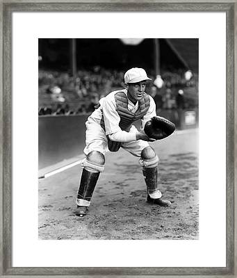Ralph F. Cy Perkins Framed Print by Retro Images Archive