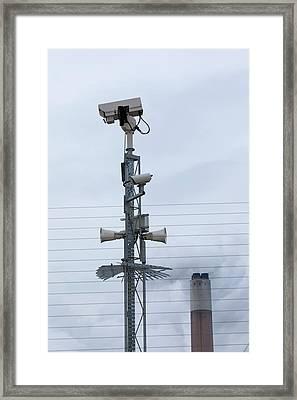 Ratcliffe On Soar Coal Power Station Framed Print