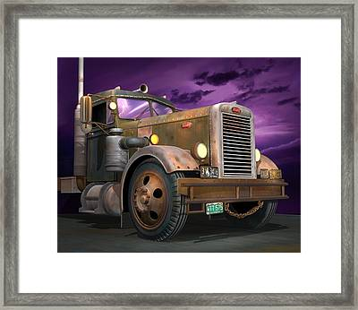 Ready 2 Duel Framed Print