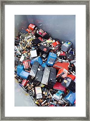 Recycling Center Framed Print by Mark Williamson