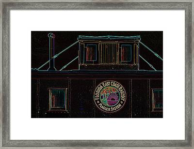 The Loose Caboose Framed Print
