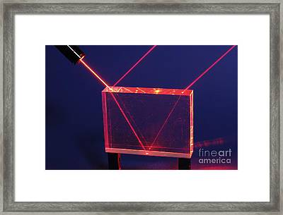 Reflection And Refraction Framed Print by GIPhotoStock