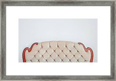Retro Upholstery Framed Print by Tom Gowanlock