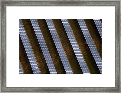 Reydon Solar Farm Framed Print