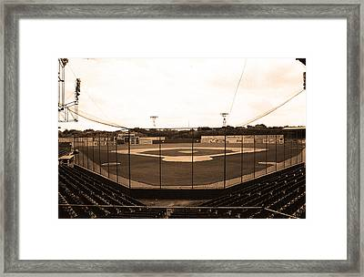 Rickwood Field Framed Print by Frank Romeo