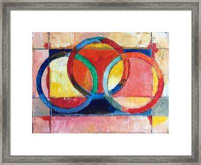 3 Rings II Framed Print by Mark Opdahl