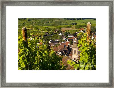Riquewihr Alsace Framed Print by Brian Jannsen