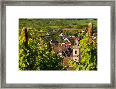 Riquewihr Alsace Framed Print